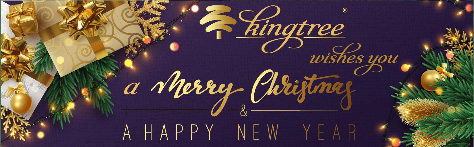 King Tree vous souhaite un Joyeux Noël et une Bonne Année !